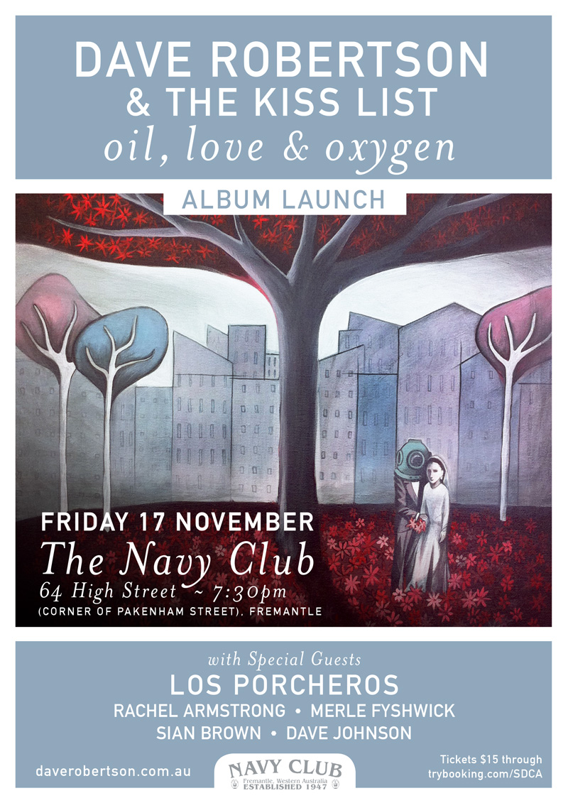 Oil, Love & Oxygen – Album Launch