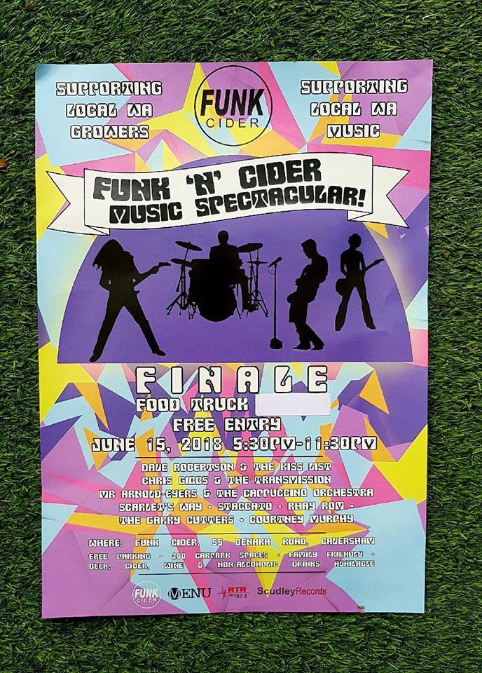 Funk 'n Cider Music Finale