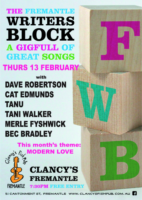 Writers Block 1302 poster
