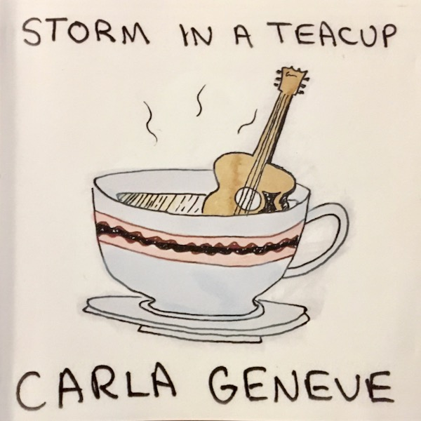 Album cover for the Carla Geneve album Storm in a Teacup